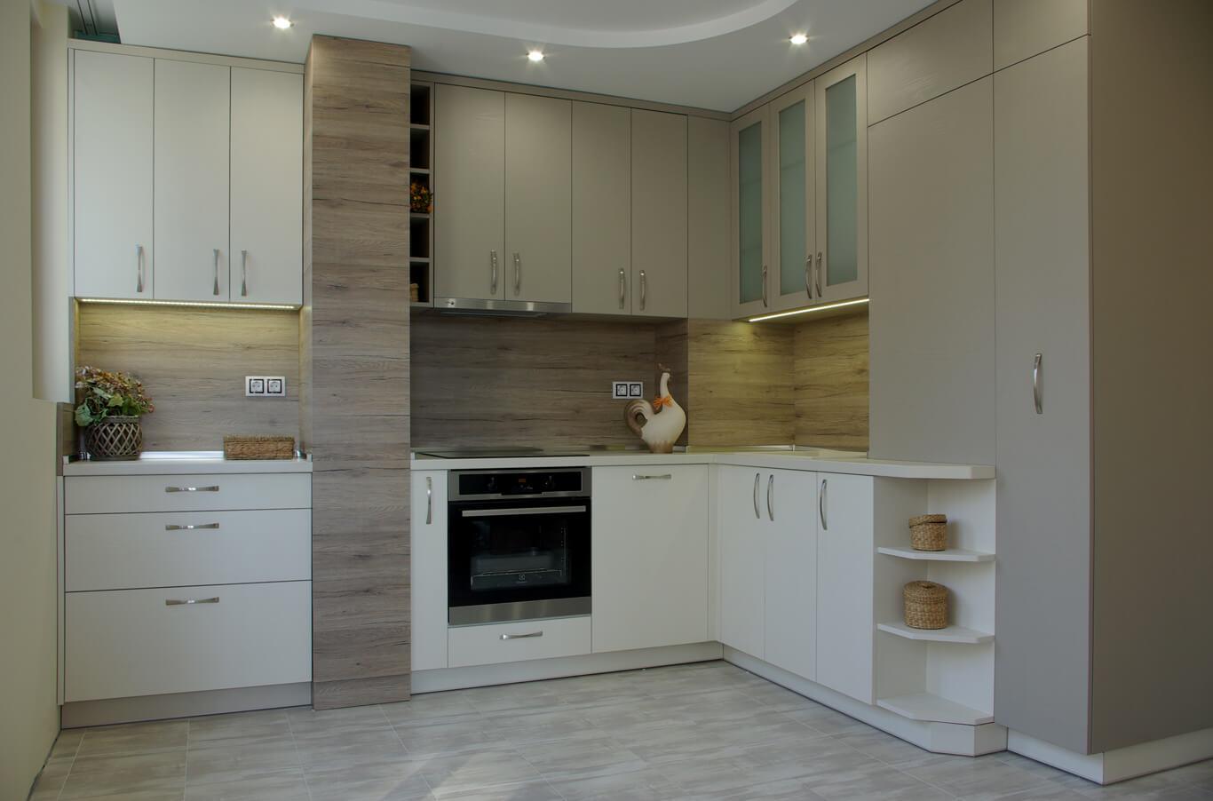 кухня до тавана