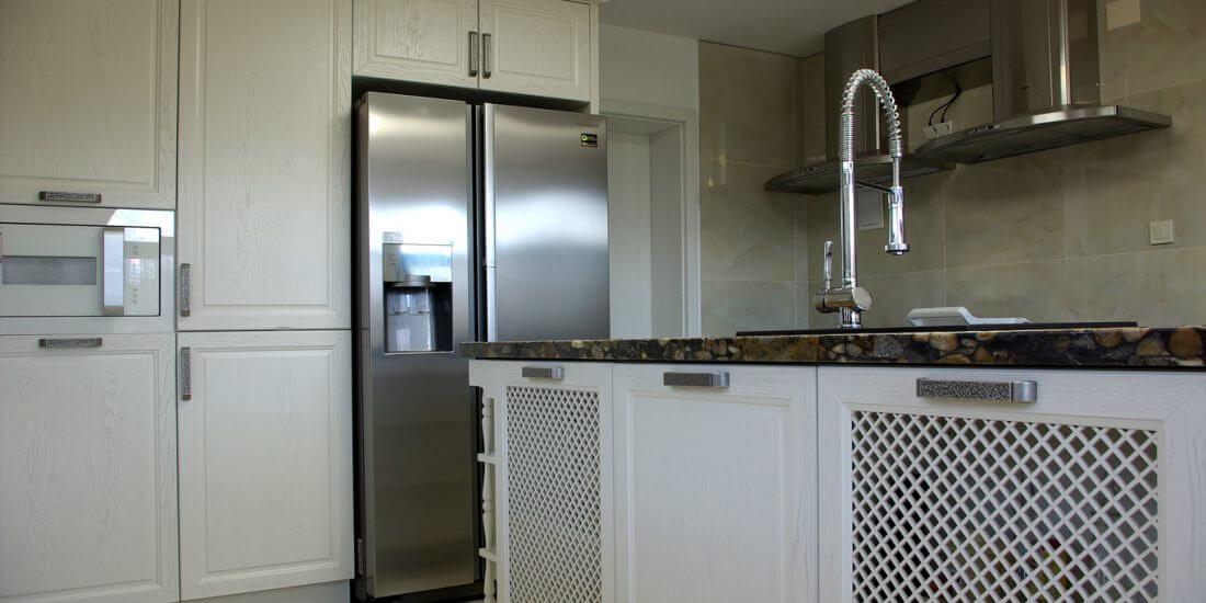 кухненски вратички с решетки