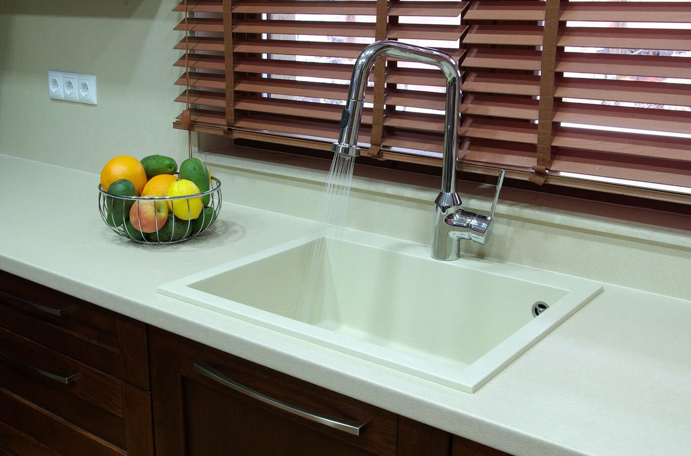 кухненска мивка гранит