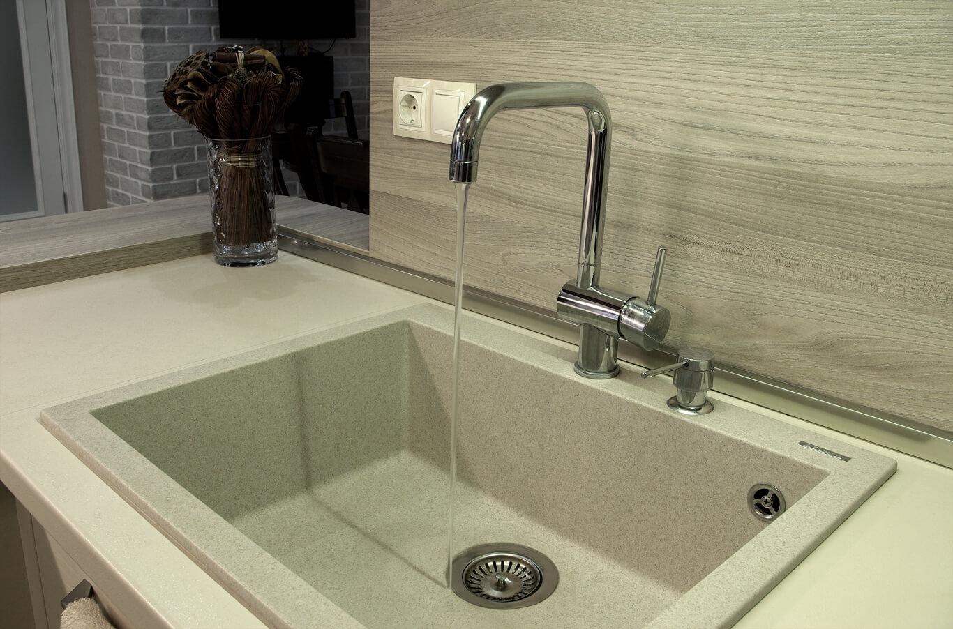кухненска мивка за вграждане