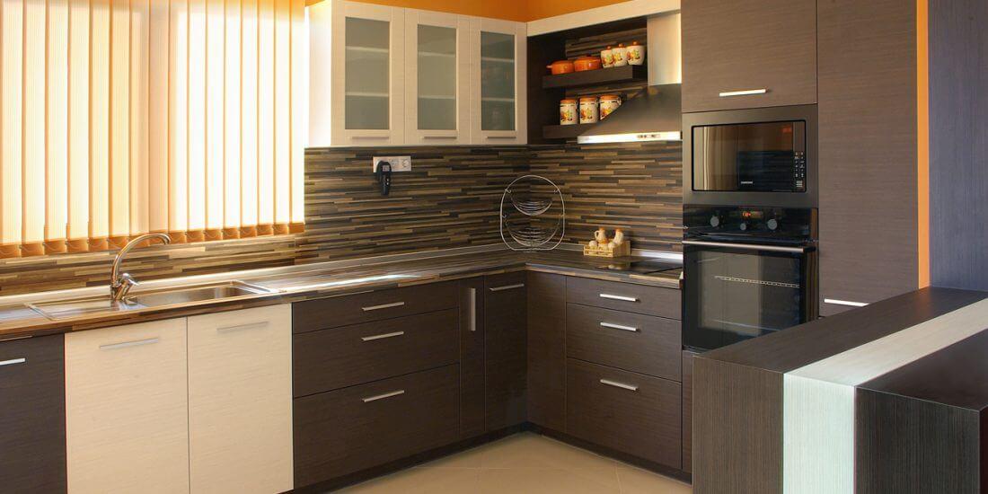 кухня с топли цветове