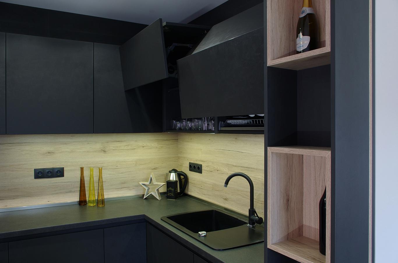 черна мивка за кухня