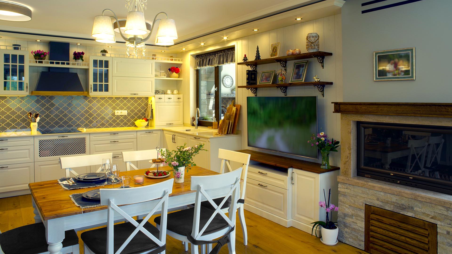 Дизайн на ретро кухня